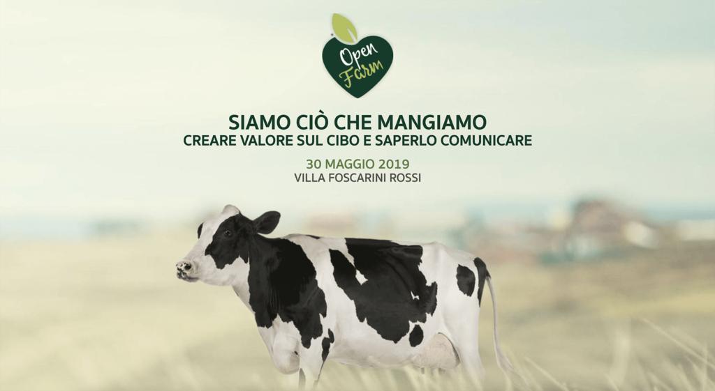 immagine di copertina del primo forum open farm 30 maggio 2019 siamo ciò che mangiamo creare valore sul cibo e saperlo comunicare